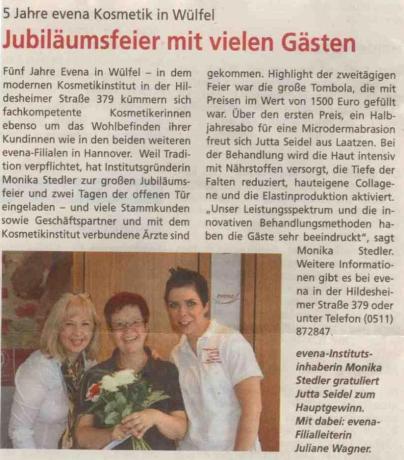 HAZ (Hannoversche Allgemeine Zeitung) 05.06.2012