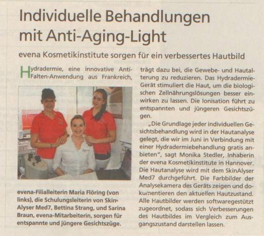 HAZ (Hannoversche Allgemeine Zeitung) 06.06.2013