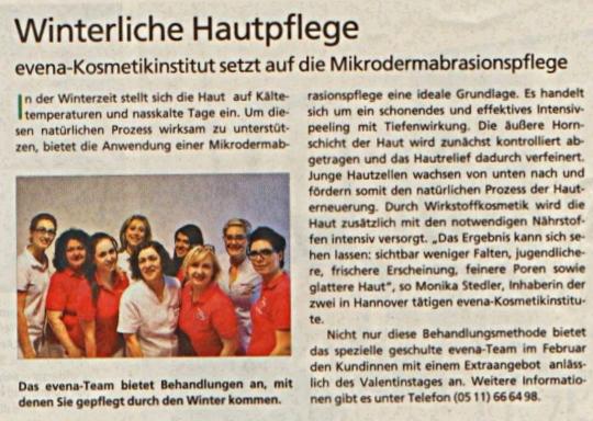 HAZ (Hannoversche Allgemeine Zeitung) 06.02.2014