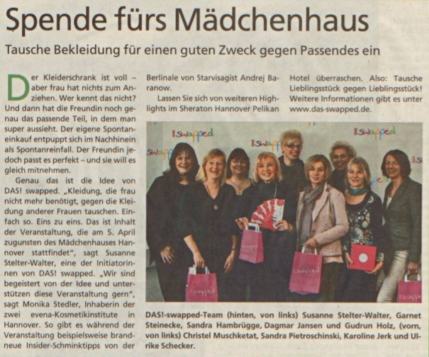 HAZ (Hannoversche Allgemeine Zeitung) 06.03.2014