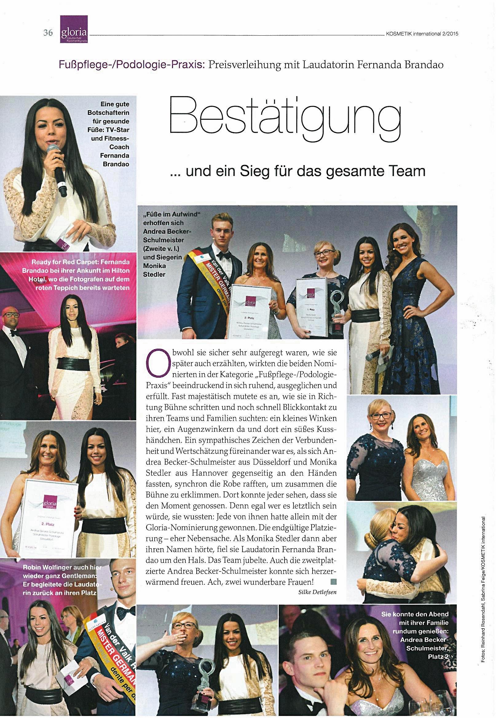 Sonderausgabe 2/2015 Kosmetik International Das Event, S. 36